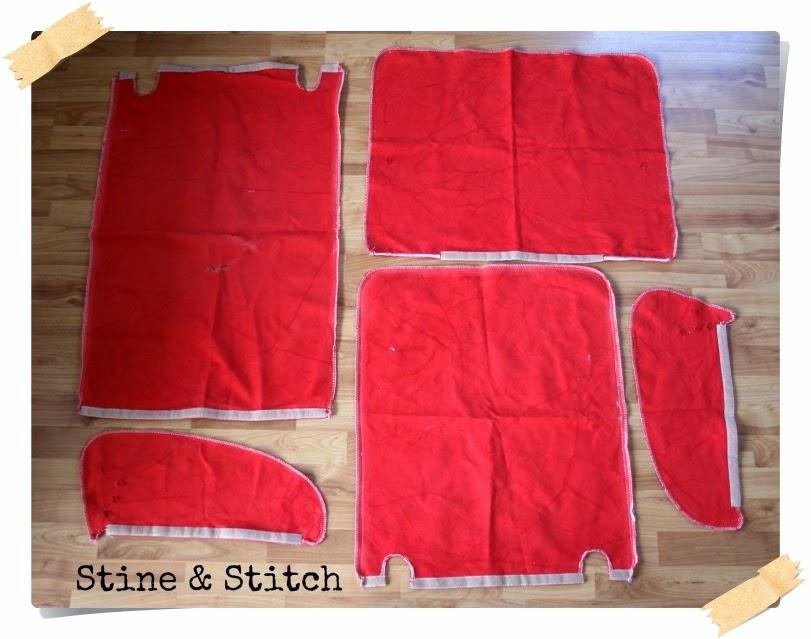 Stine Stitch Sessel Beziehen