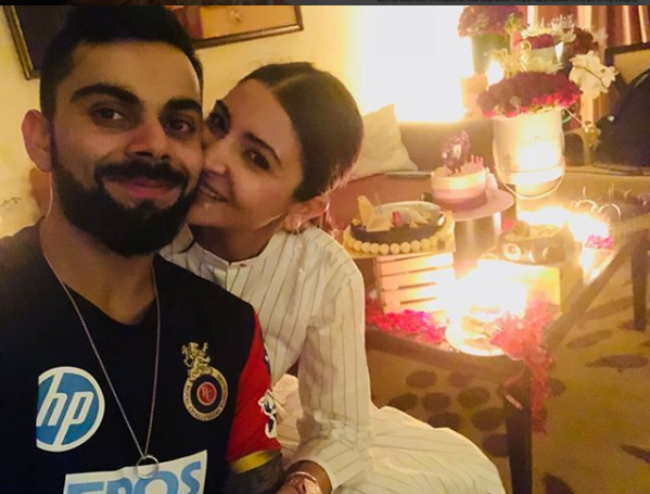 Anushka Sharma Husband  With Virat Kohli