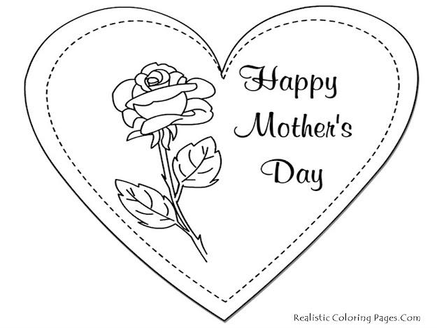 Coloring Sheets You Can Print  Printable Mothers Day Coloring Pages  Realistic  Coloring Pages