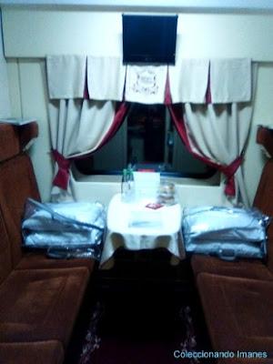 Interior compartimento flecha Roja