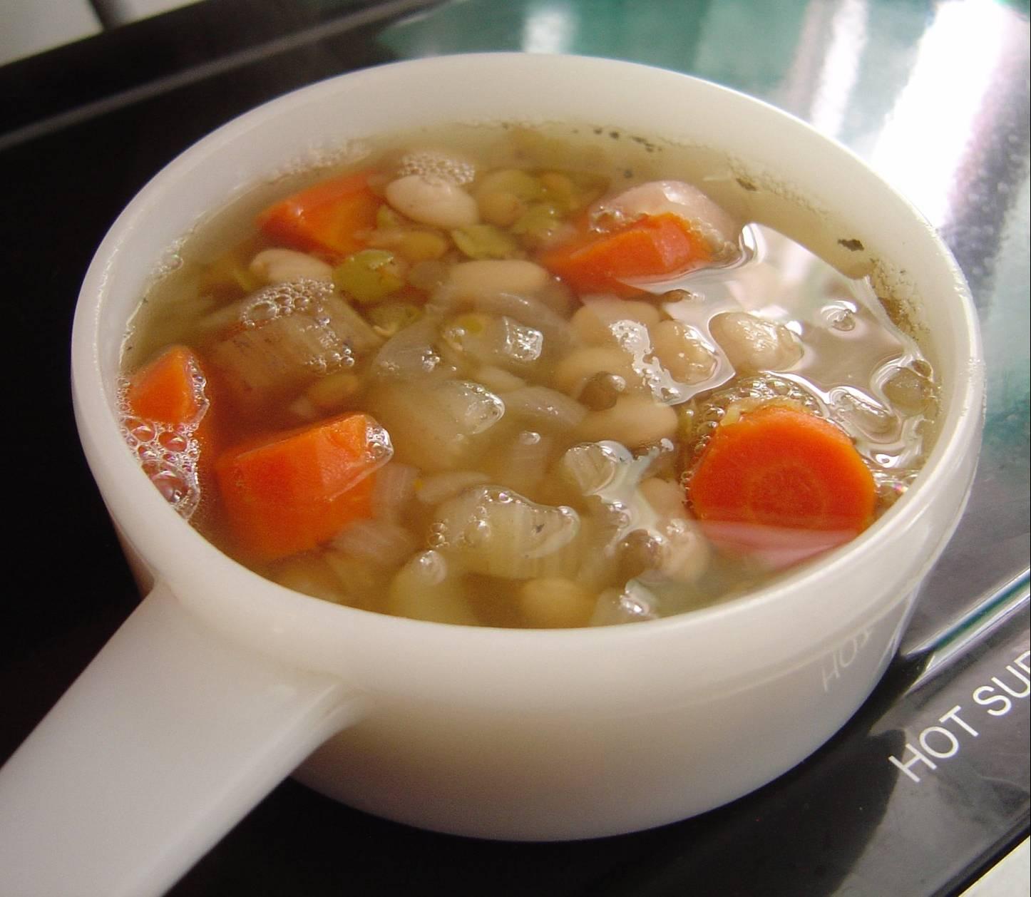 My Favorite Ham-Bean Soup