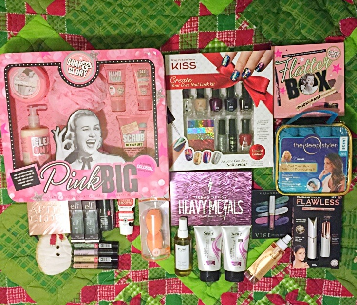 What I got for Christmas 2017 part two makeup