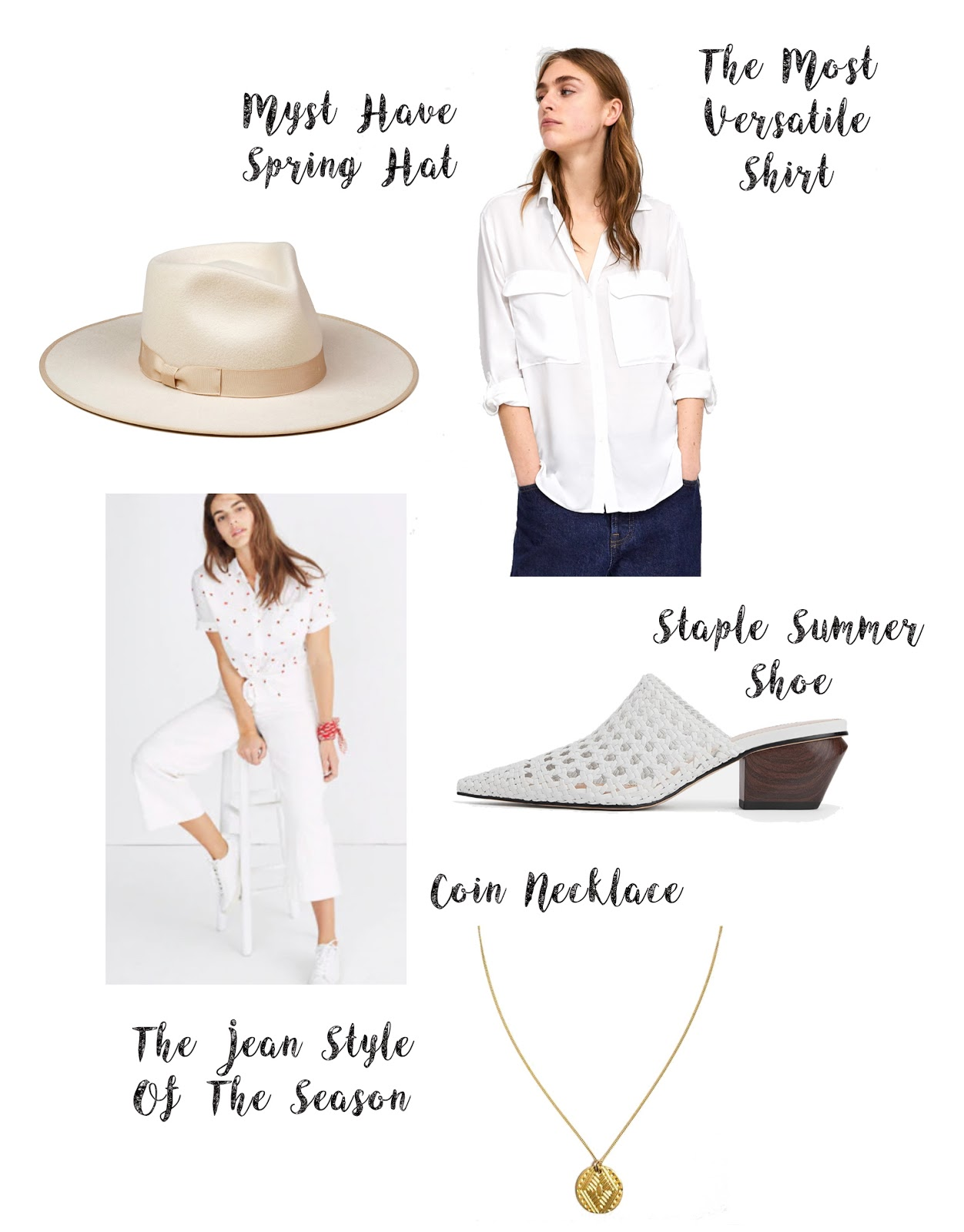 5 Must Have Trending White Pieces For Spring 2019