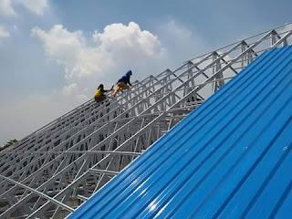Cara Mudah Menghitung Luas Rangka Atap Baja Ringan