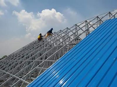 Jasa Pemasangan Rangka Atap Baja Ringan Murah Berkualitas