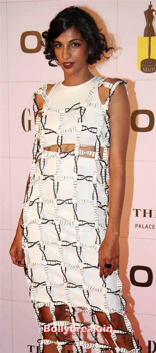 Anushka Manchanda, Hottest Celebs of Bollywood at Grazia Young Fashion Awards 2014