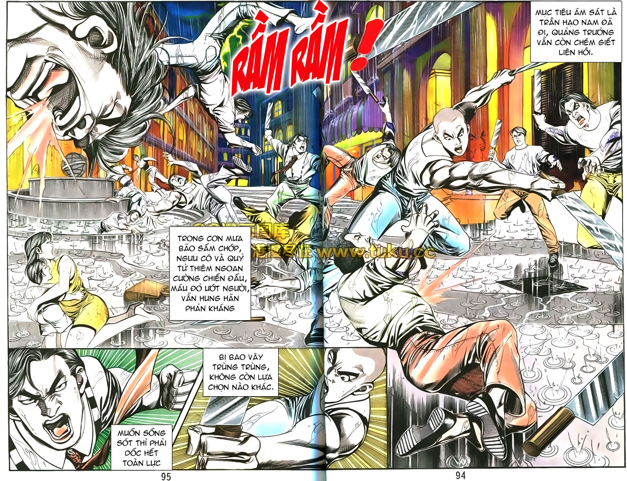 Người Trong Giang Hồ chapter 173: da ngựa bọc thây trang 13