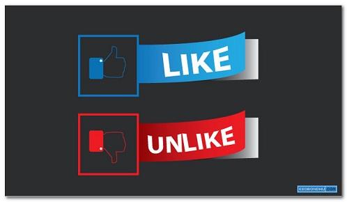 like,dislike button
