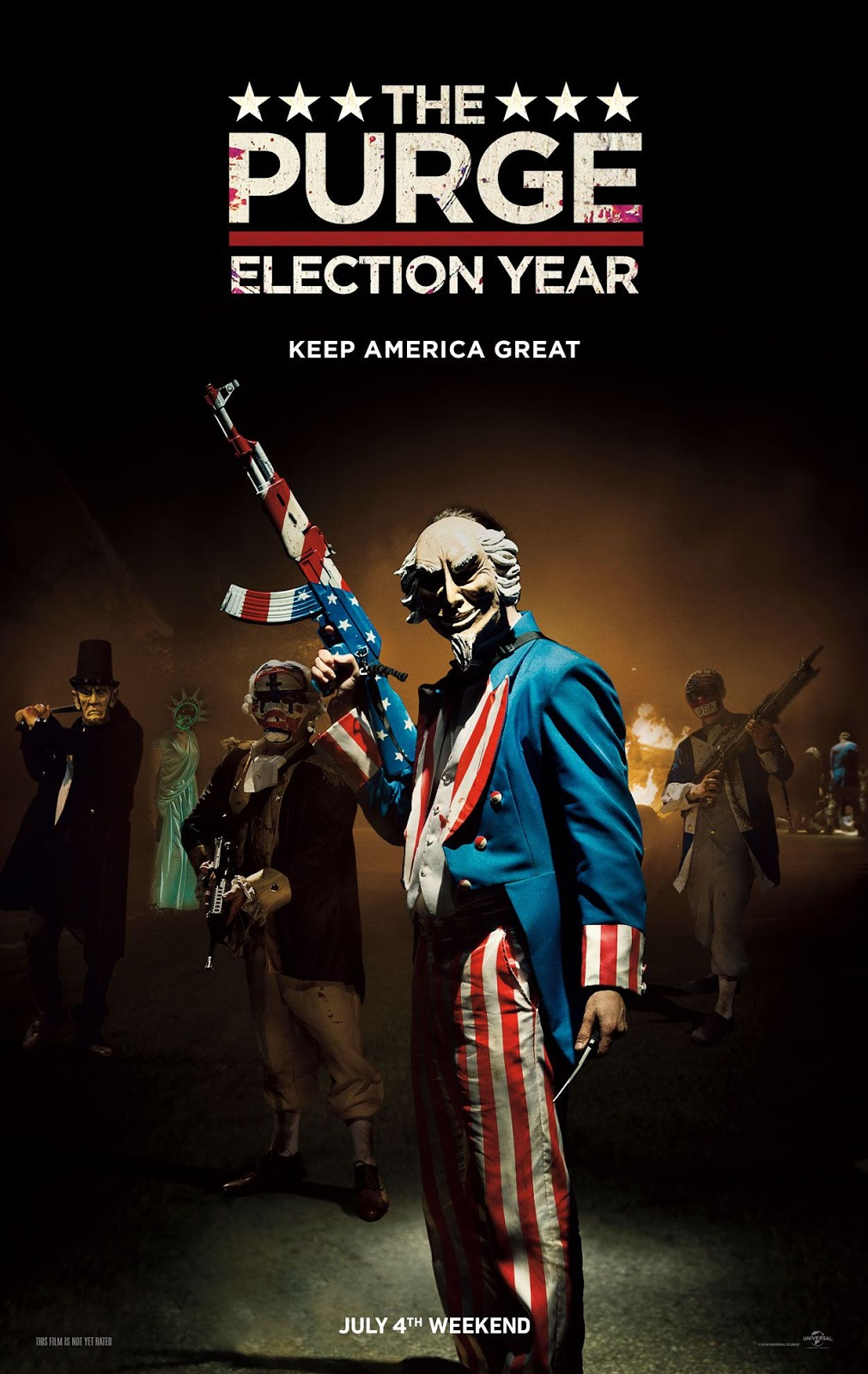 The Purge: Election Year 2016 - Full (CAM)