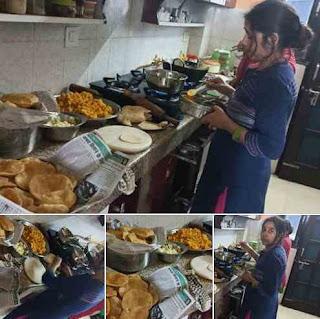 जानिये फेसबुक पर वायरल हो रही खाना बनाते इस महिला के पति का संदेश | सामाजिक चिंतन | Gyansagar ( ज्ञानसागर )