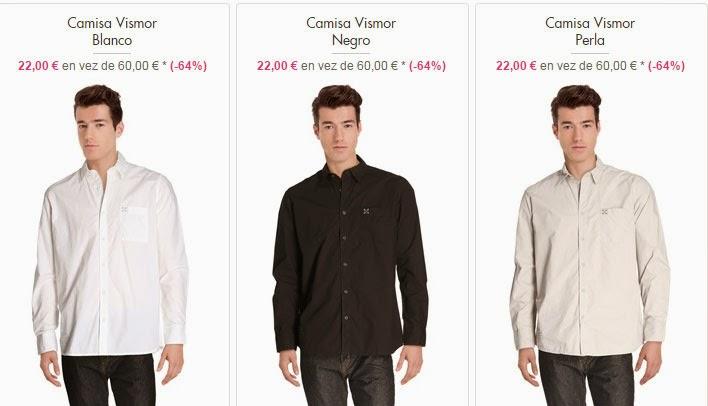 camisas a 22 euros