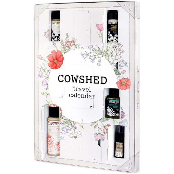 Cowshed Travel Countdown Calendar For Holiday 2017 Contents, Spoilers: Ships Worldwide