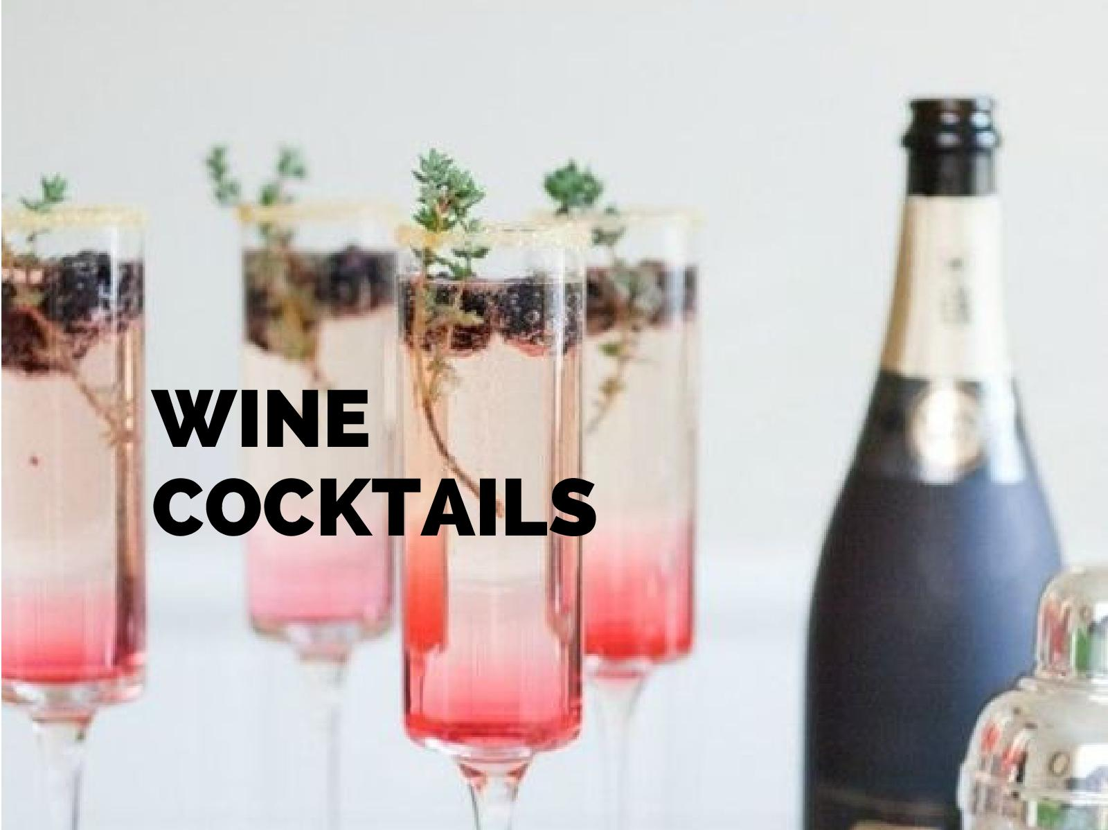 Winter Cocktails Made with Wine