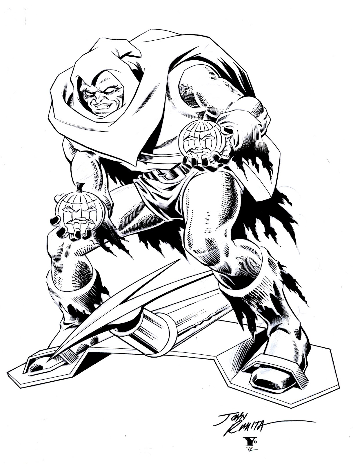 ink destroyed my brush: Almost Finished: Hobgoblin by