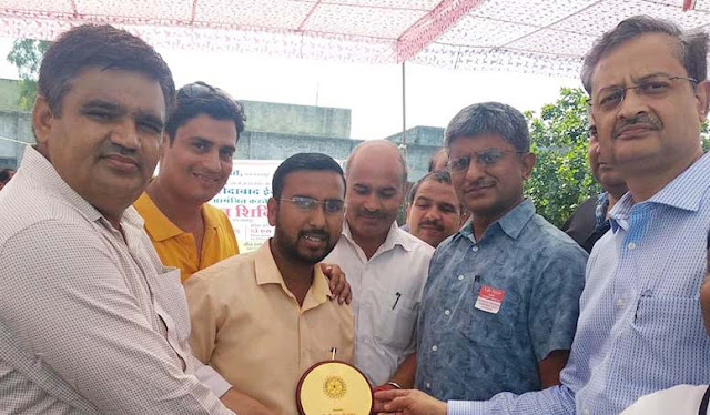 100 units of blood collected in the Rakanan camp organized by Metro Hospital in Bhanakpur