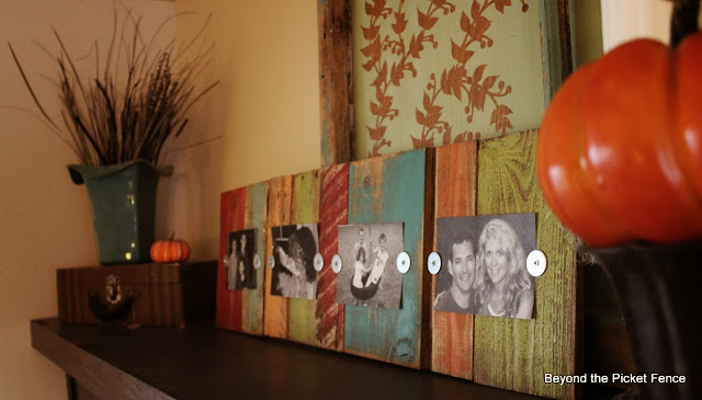 pallets, scraps, frame, photo holder, paint, http://goo.gl/mHMD53