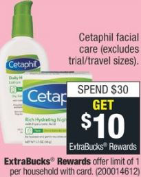 Cetaphil facial care