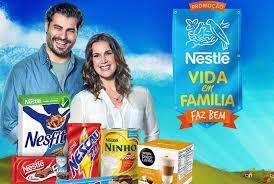 Promoção  Vida em Família Faz Bem da Nestlé
