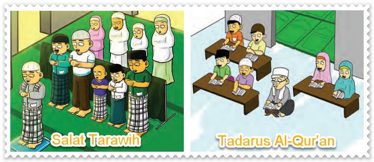 Salat Tarawih dan Tadarus
