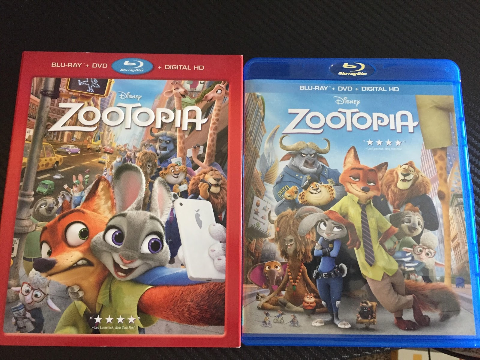 Review: Zootopia Blu Ray and DVD