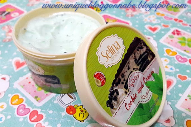 Selina body souffle cookies and cream 3