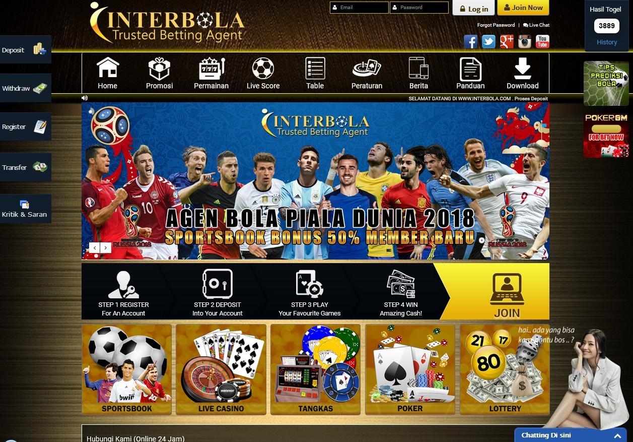 INTERBOLA Master Agen Maxbet Resmi di Indonesia 8