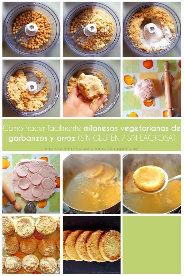 milanesa vegetariana vegana fototutorial
