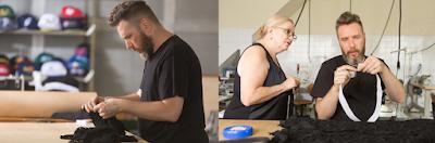 Nas fotos: O time 7 de setembro, Rhody e Alexandre com a mãe Regina - Divulgação