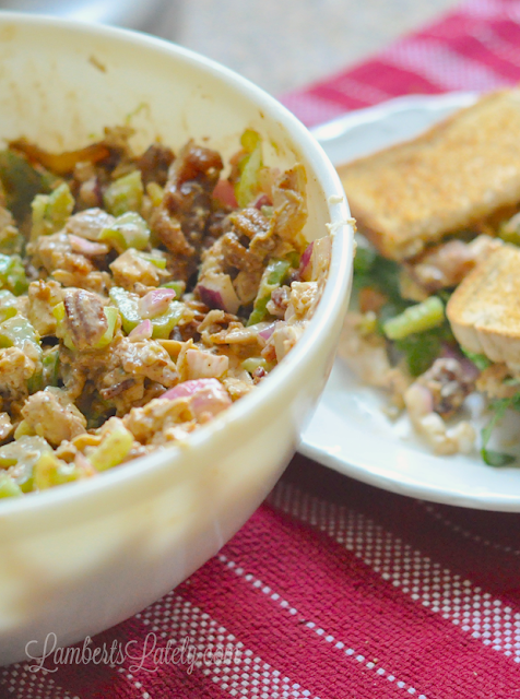 Wouldn't this Barbecue Bacon Chicken Salad recipe would make the perfect summer sandwich?
