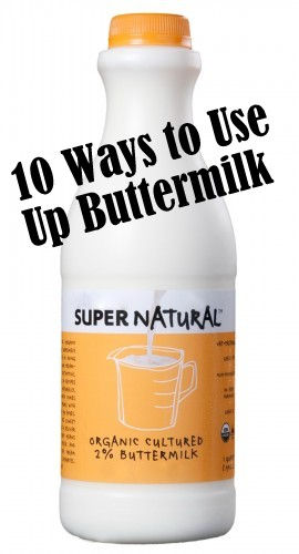 what can buttermilk be used for