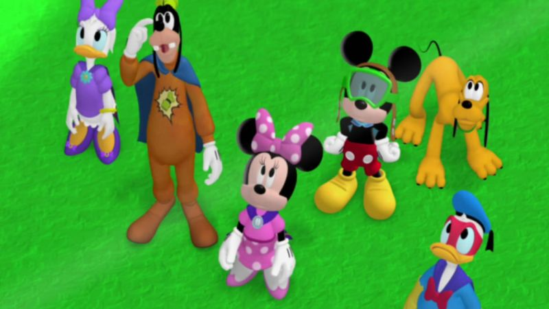 Adventure Mouse Mickey Clubhouse Super