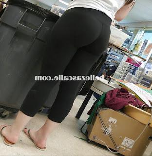bonita chica pantalones yoga