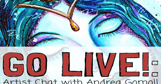 What the heck is Periscope? [Andrea Gomoll Artist Chat]