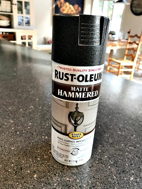 Matte Hammered spray paint