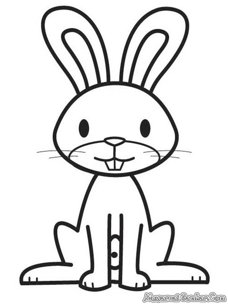Gambar Kartun Binatang Untuk Mewarnai