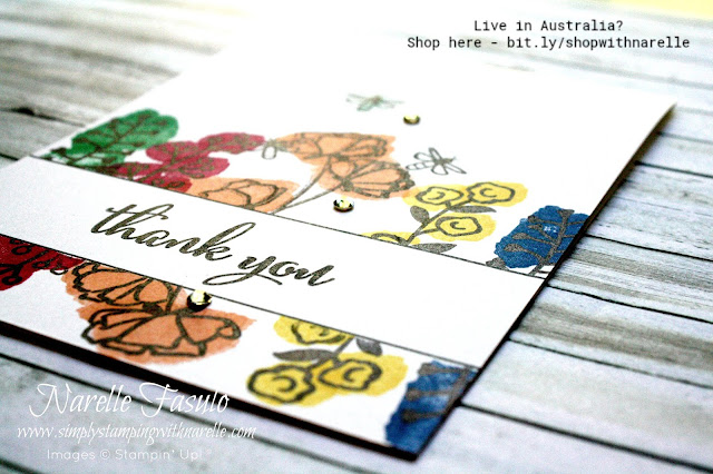Create gorgeous cards like this easily with quality products - shop here - http://bit.ly/shopwithnarelle