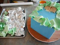 cómo hacer que la culata de un bebé bebé ducha pastel de caja de regalo