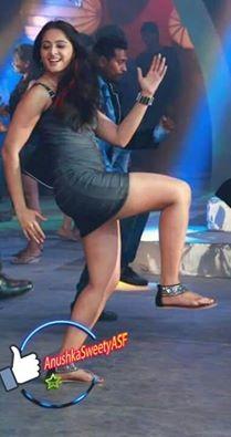 Anushka Shetty Dance