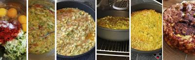 Zubereitung Kartoffel-Zucchini-Tortilla, Zubereitung Tortilla