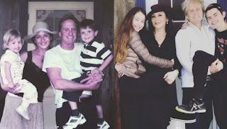 La pareja de Catherine Zeta-Jones y Michael Douglas publicó una fotografía con sus hijos en el mismo lugar, 10 años después.