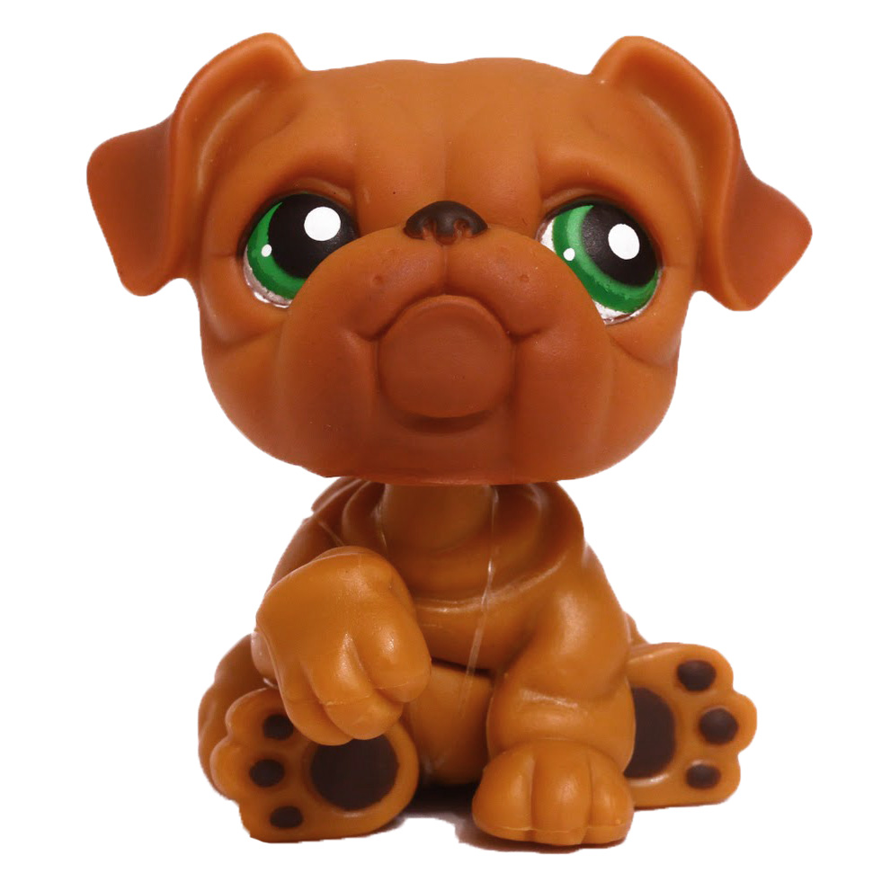 littlest pet shop bulldog lps bulldog generation 1 pets lps merch 6349