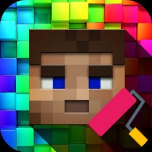 5 Aplikasi Terbaik Membuat Skin Minecraft Pe Di Android Anvinus Minecraft