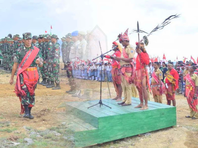 Christian Tehuteru Tutup Opster TNI Kalwedo di Pulau Kisar