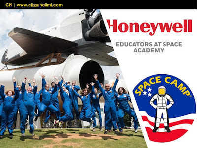 Terpilih Untuk Honeywell Educators at Space Academy 2018