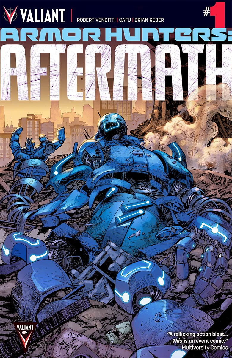 Valiant Previews: ARMOR HUNTERS: AFTERMATH #1