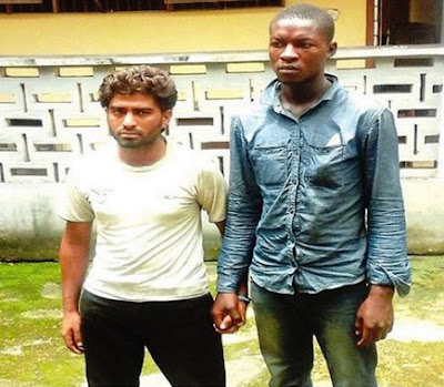 pakistani man arrested lagos