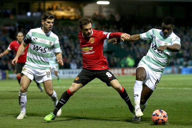 Yeovil Town vs Manchester United