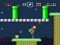Pantallazo videojuego Super Mario World para Super Nintendo