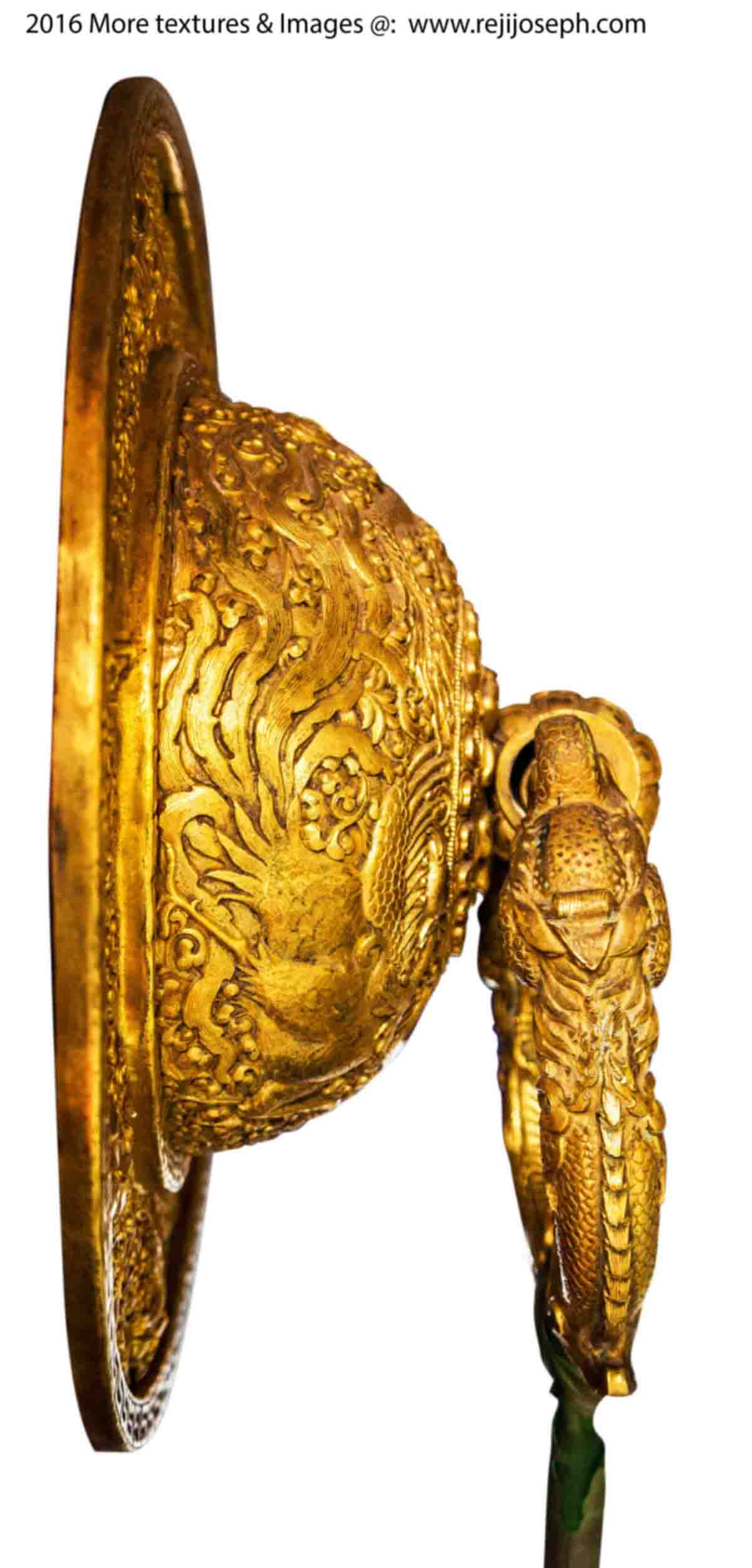 PNG Buddhist temple brass door handle 004