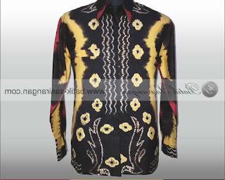 macam2 model baju sasirangan atau batik